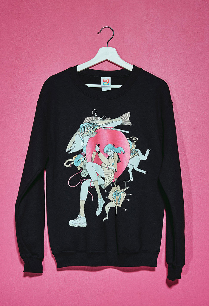 SCHOOL DISSECTION Sweater