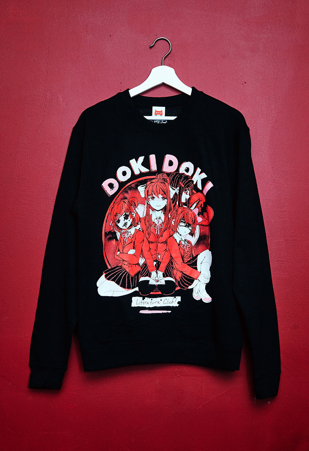 DOKI DOKI Black Sweater