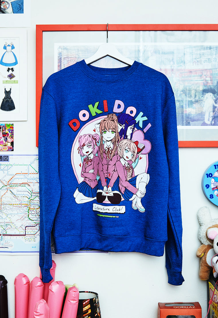 DOKI DOKI Blue Sweater