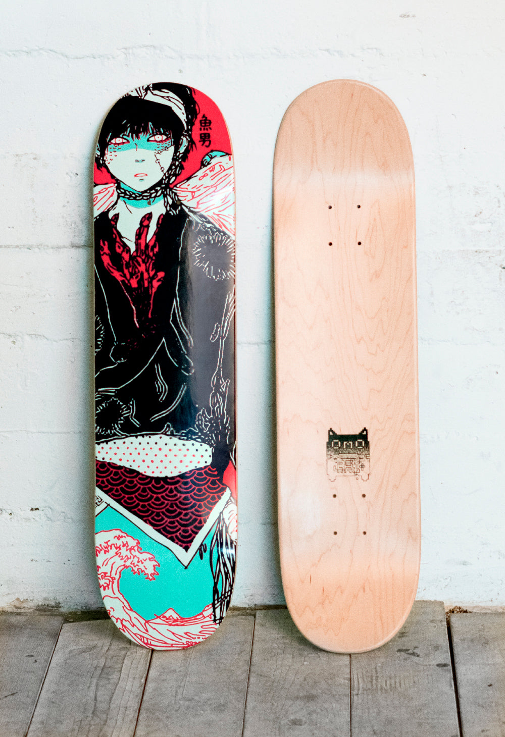 FISHBOY Skate Deck