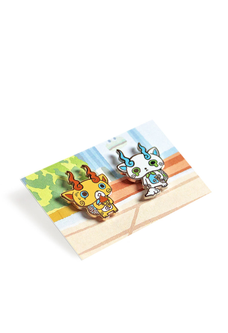 KOMASAN'S SADNESS Pin Set