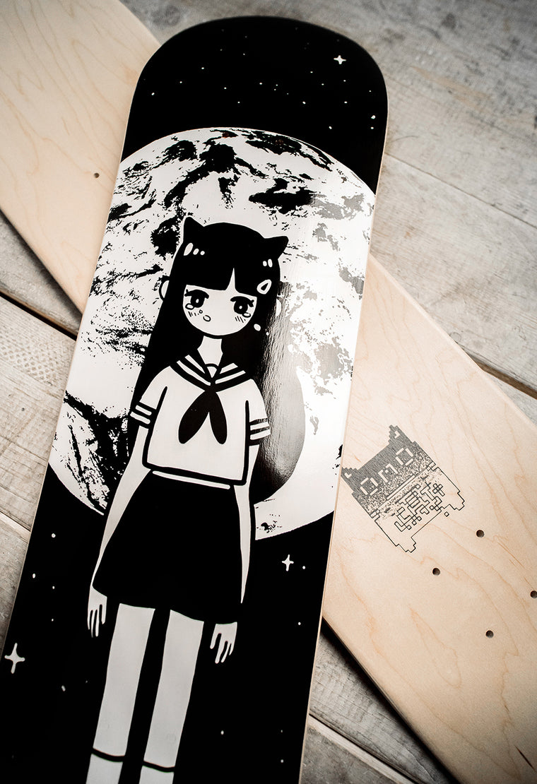 MOONGIRL Skate Deck