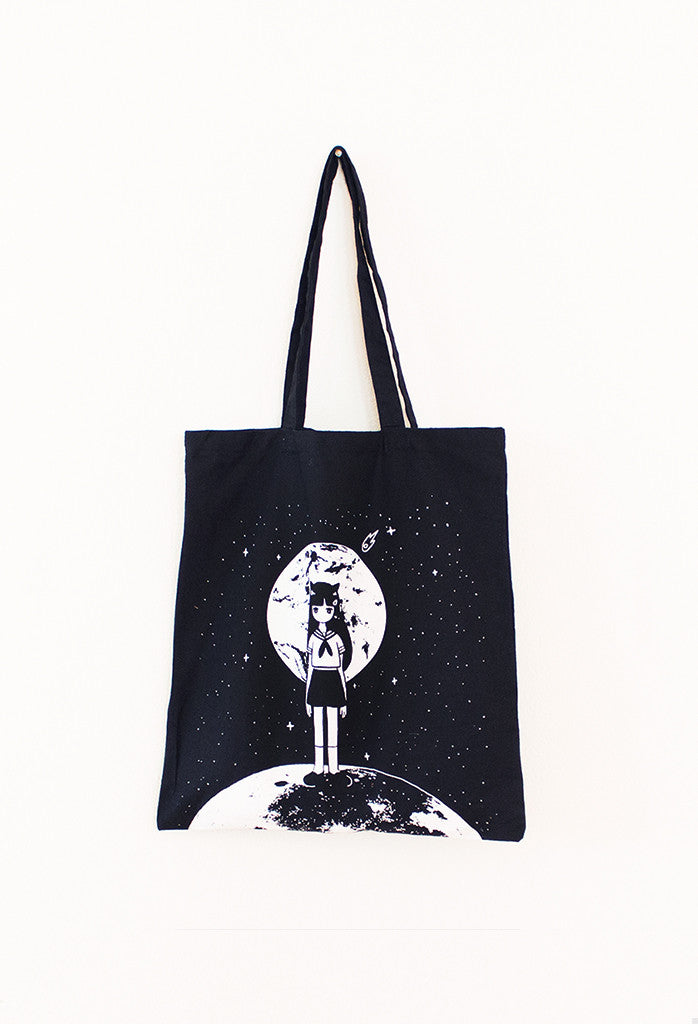 MOONGIRL Tote Bag