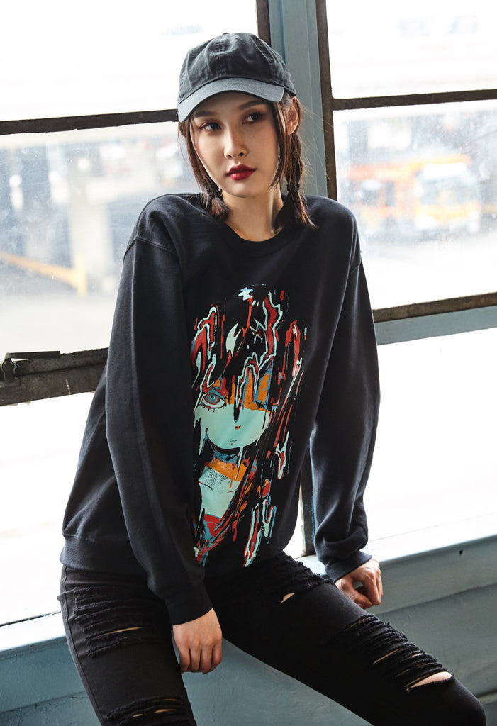 MELTYGIRL Black Sweater