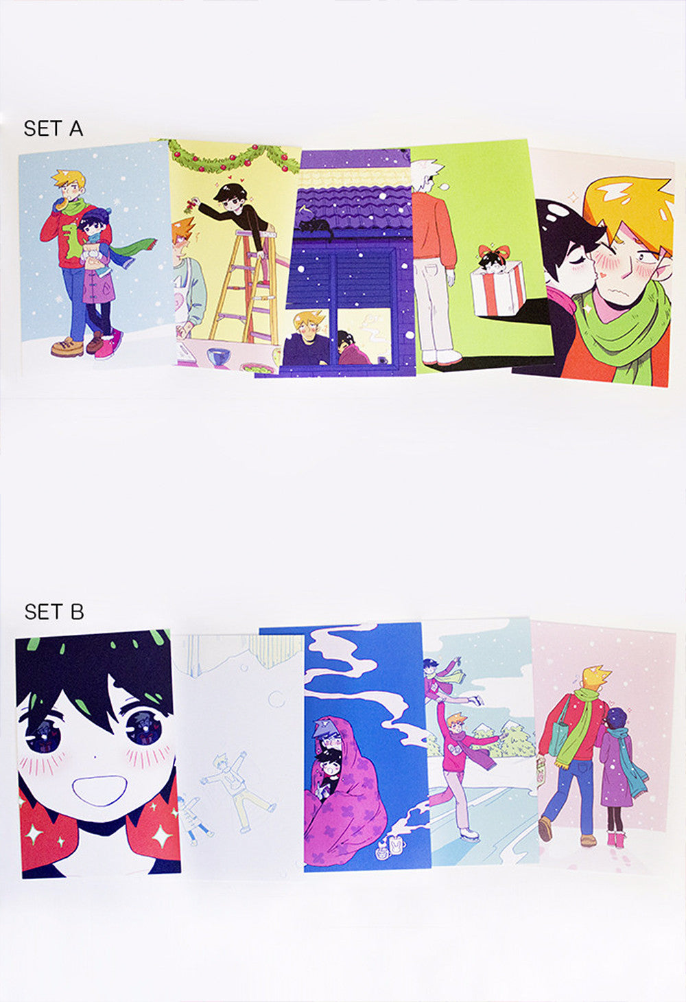 PRETTYBOY Holiday Postcard Sets