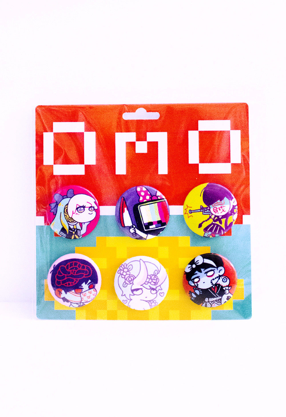 OMOCAT Button Pin Set