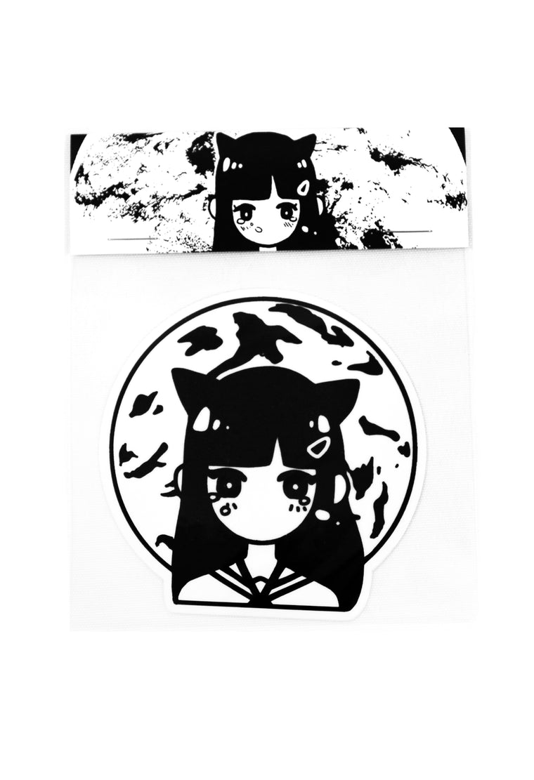 MOONGIRL Sticker