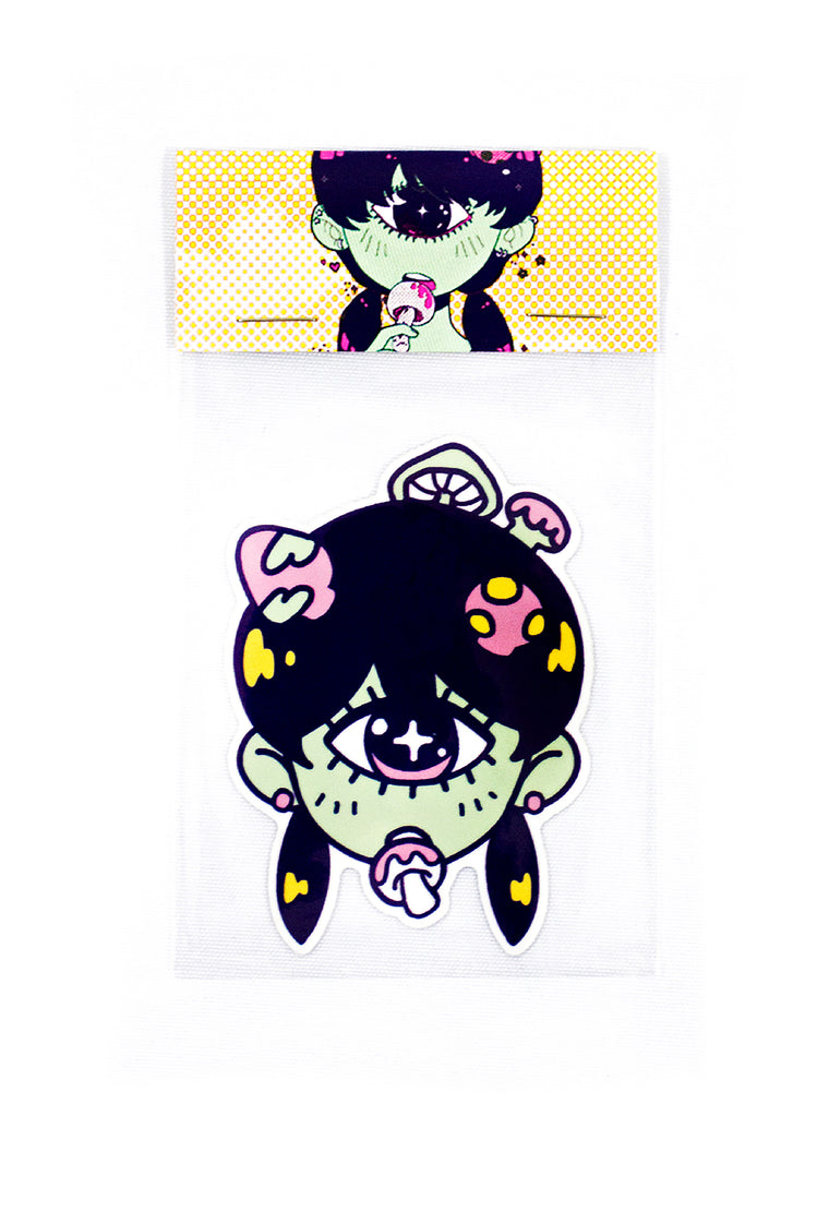 MUSHROOMGIRL Sticker
