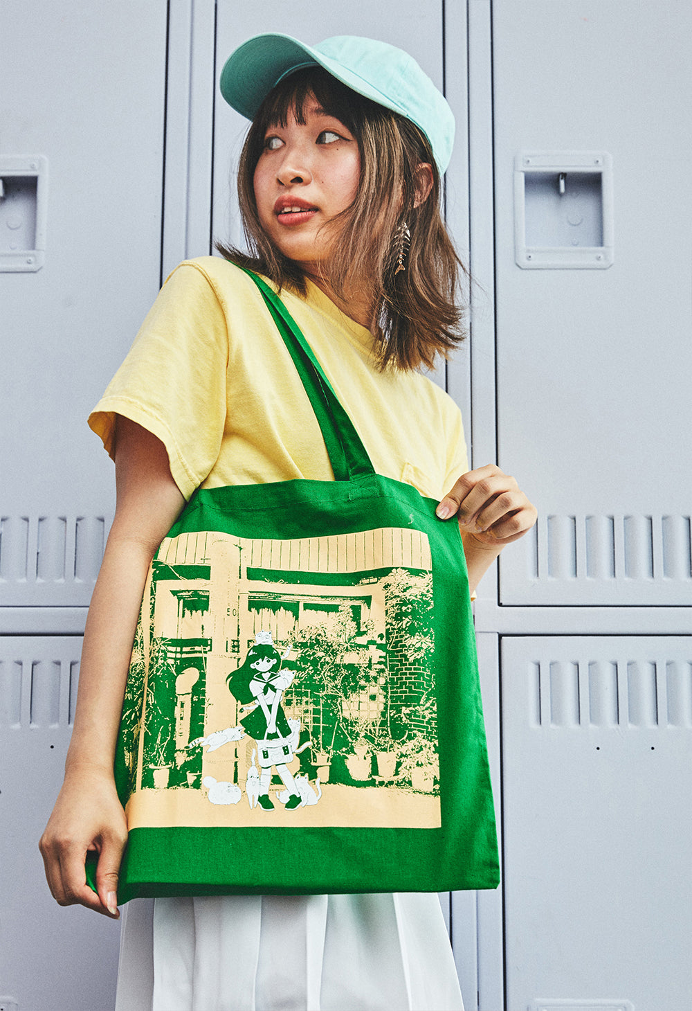 CAT & DOG Tote Bag