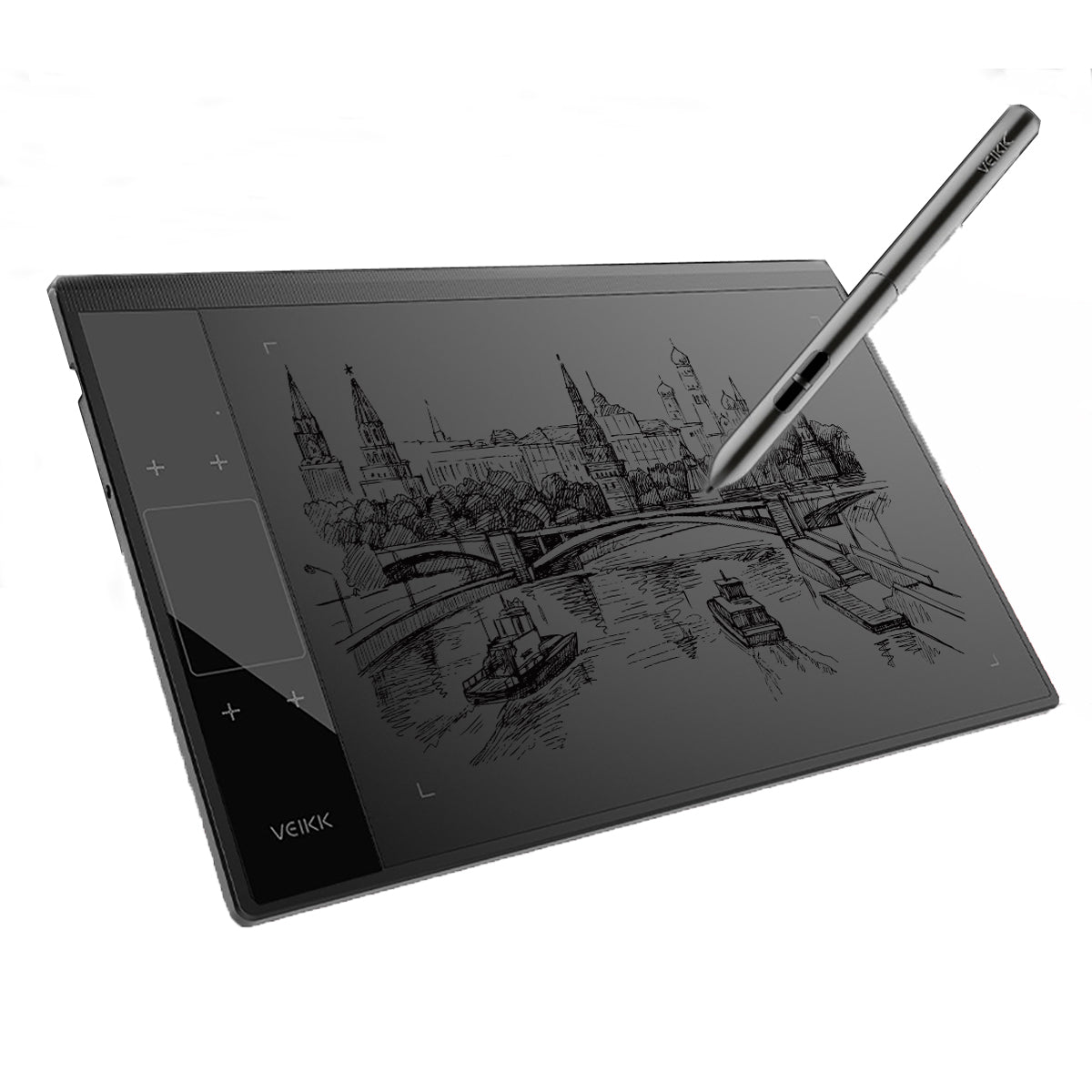 Artists Graphics Drawing Tablet for Illustrator Large Digital Pen Drawing Pad