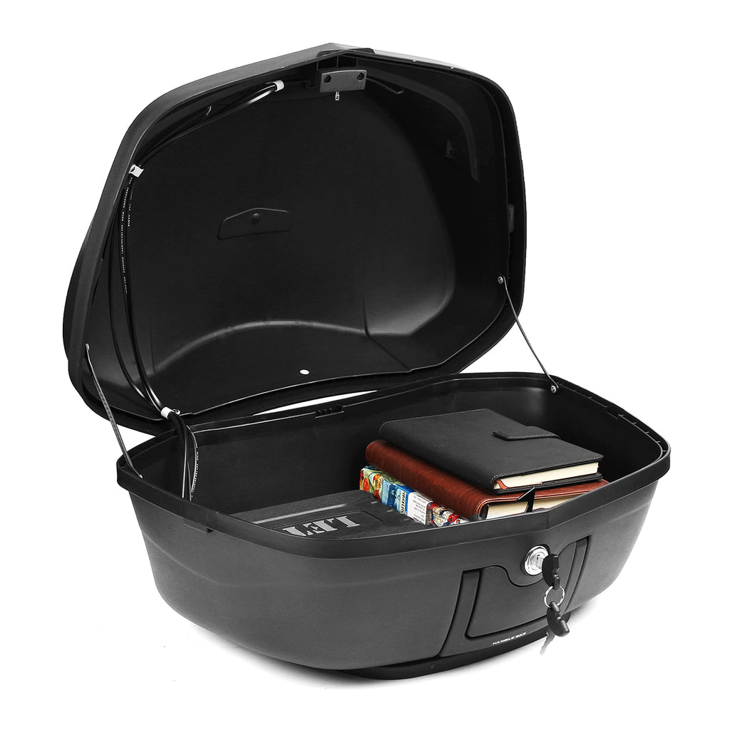 CycleBin™ Universal Motorcycle Scooter Top Box 48L Rear Storage