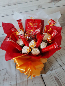 The Lindt Lindor Chocolate Bouquet.