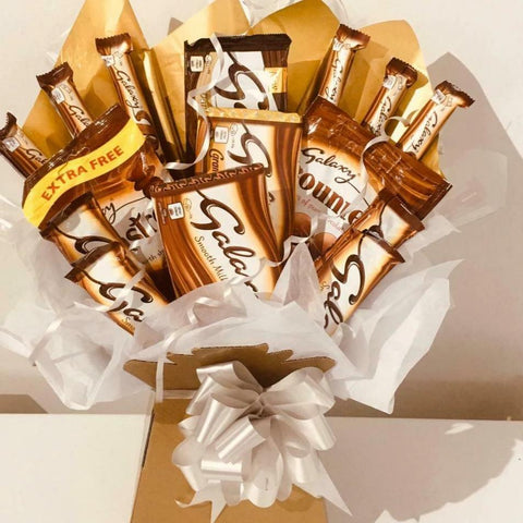 Galaxy Chocolate Bouquet Hamper Gift Box