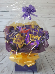 The Cadburys Sharing Bag Bouquet Hamper