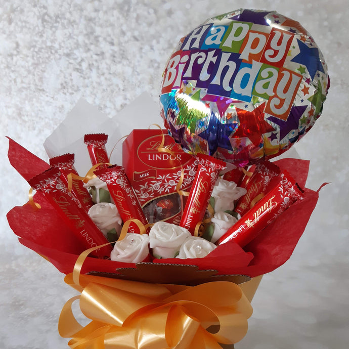 The Happy Birthday Lindt Lindor Chocolate