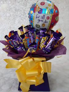 The Thank You Cadburys Chocolate Bouquet
