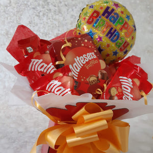 The Maltesers Happy Birthday Chocolate Bouquet