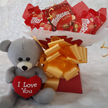 Load image into Gallery viewer, Maltesers Truffles Chocolate Bouquet Hamper Gift