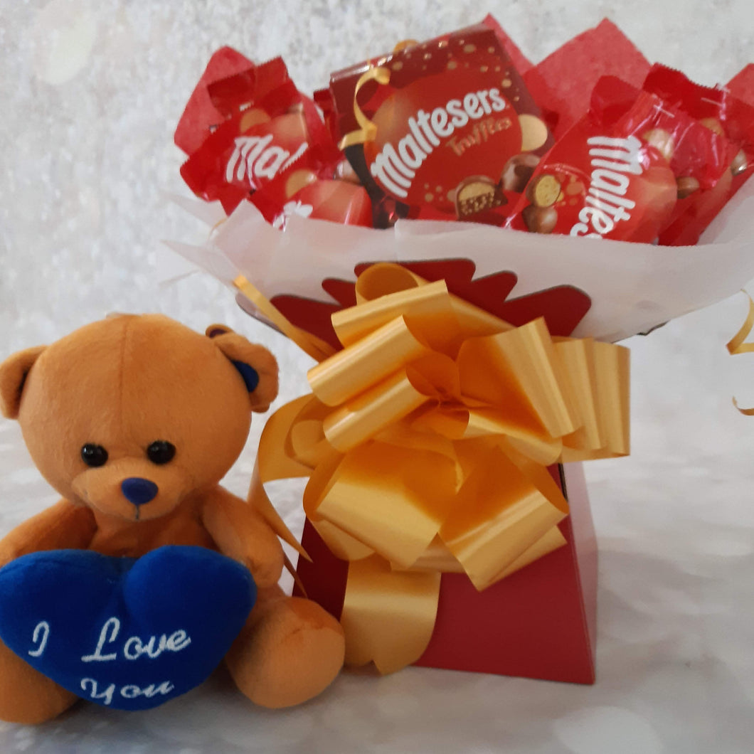 Maltesers Truffles Chocolate Bouquet Hamper Gift
