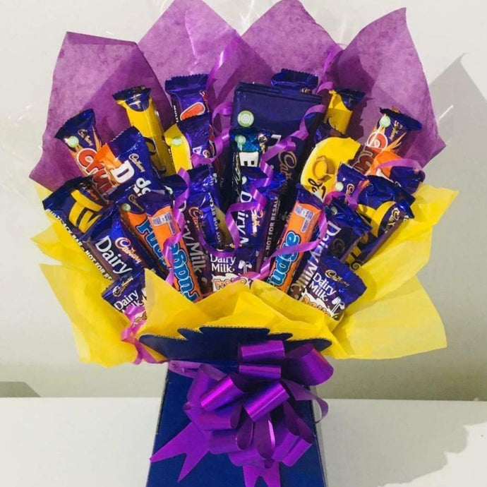 The Cadburys Chocolate Bouquet Hamper Gift