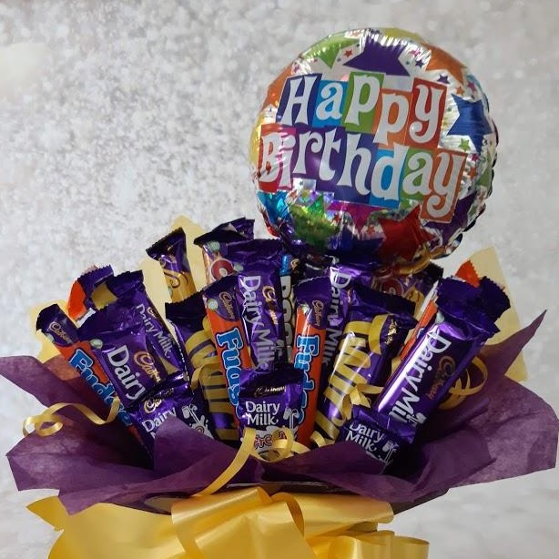 The Happy Birthday Cadburys  Bouquet