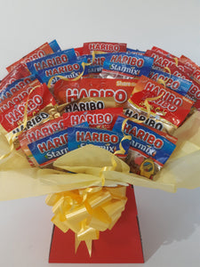 Haribo Sweet Bouquet Hamper Sweet Box