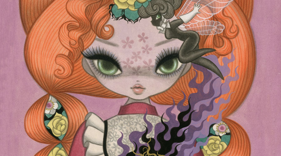 junko mizuno art exhibition at magic pony