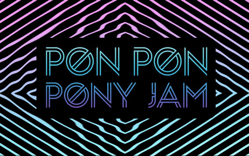 ponpon pony jam magic pony toy exhibition