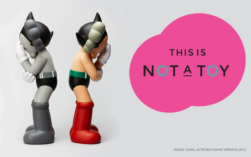 this is not a toy, kaws, pharrell williams, magic pony