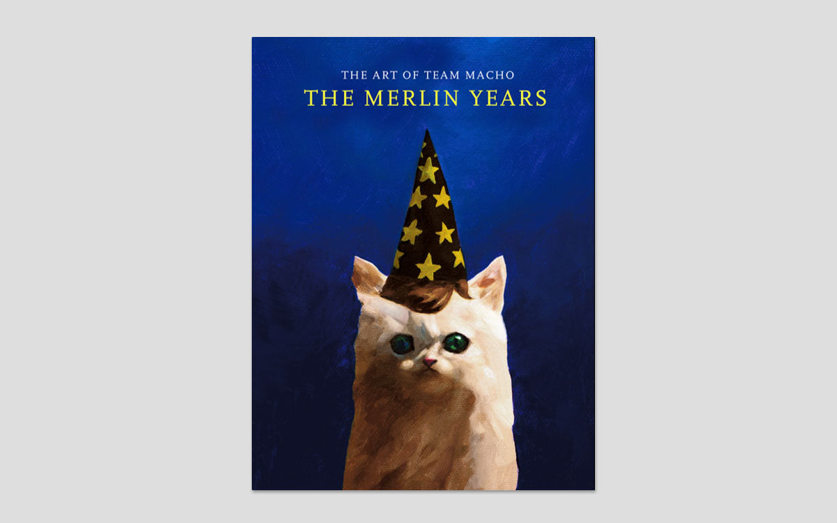 magic pony narwhal projects The Merlin Years Team Macho art catalogue