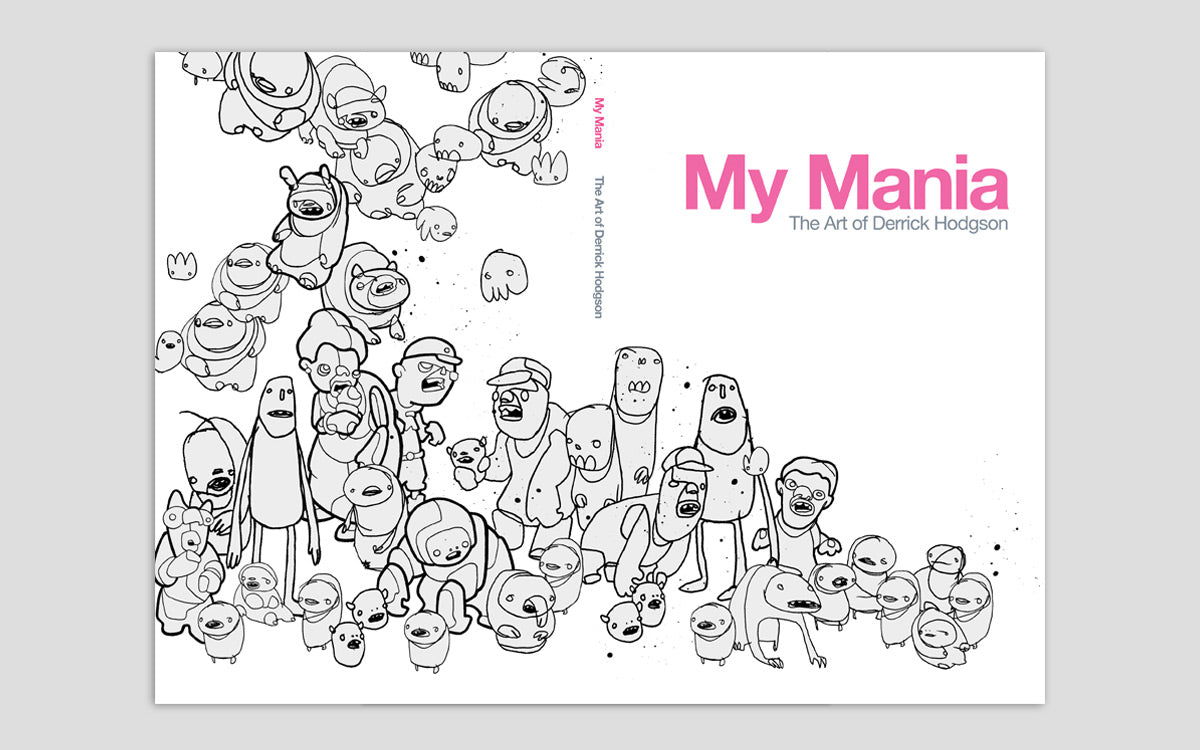 my mania art catalogue published by magic pony
