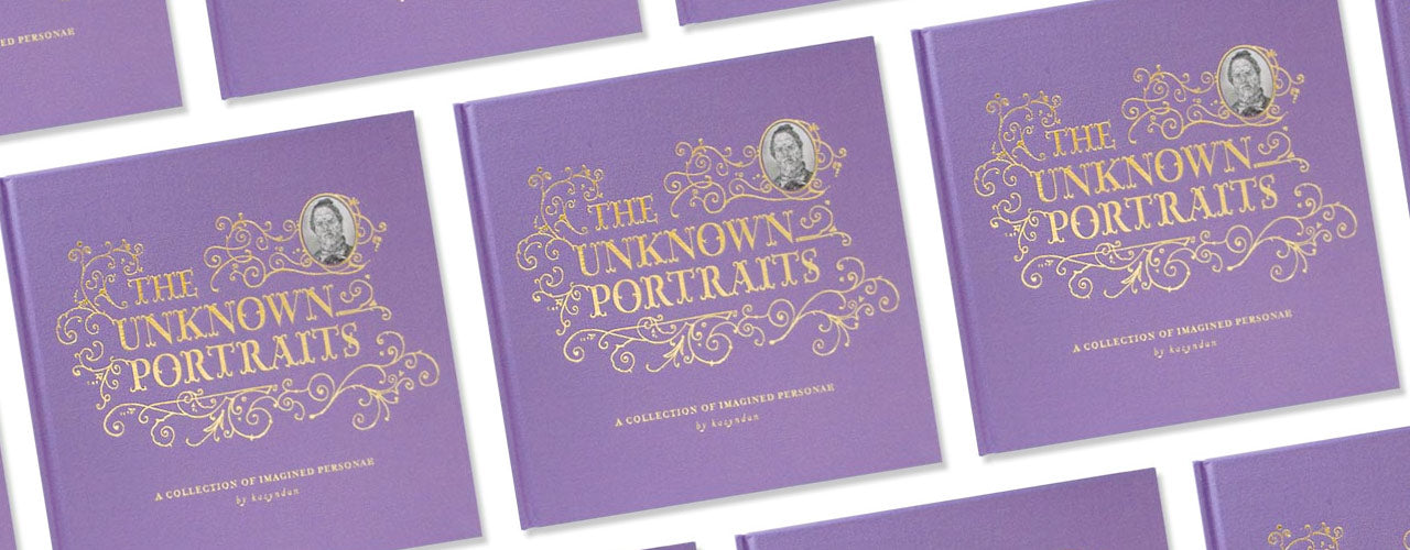 magic pony x kozyndan The Unknown Portraits art book