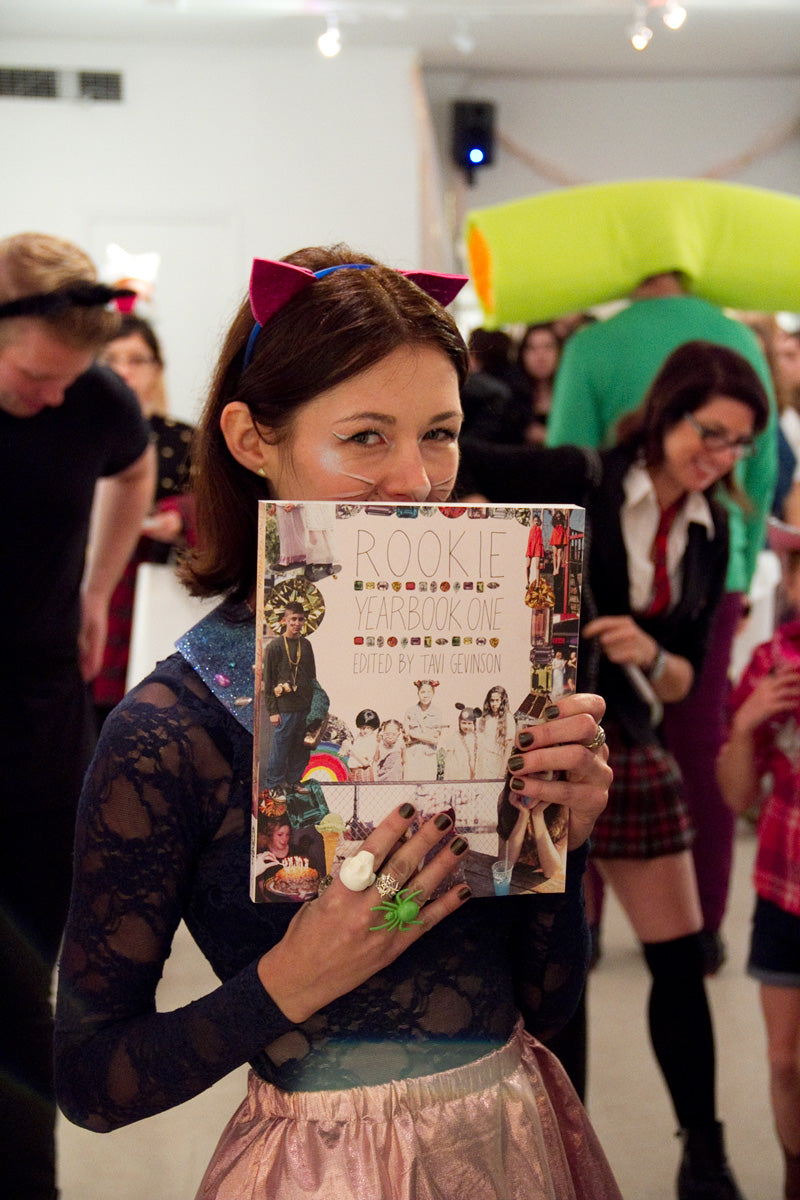 rookie yearbook launch tavi gevinson at magic pony