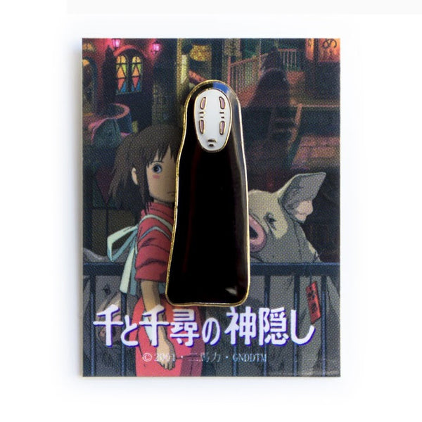 Spirited Away No Face Enamel Pin