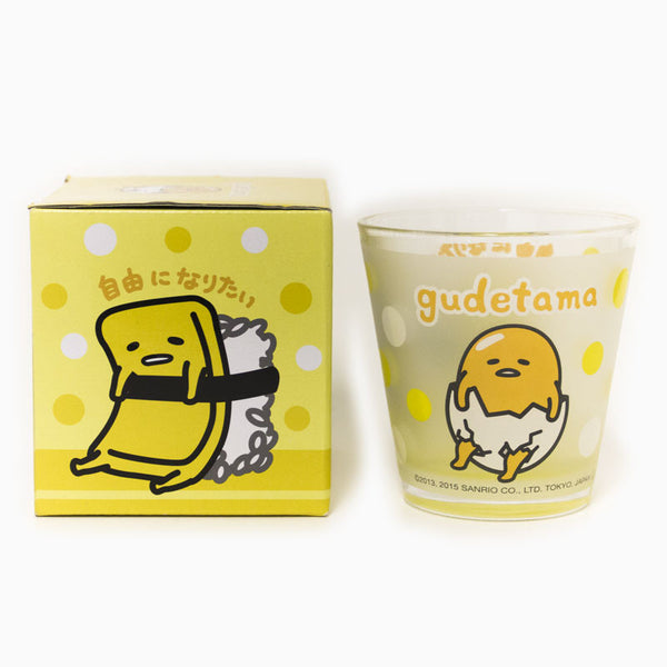 Gudetama Drinking Glass