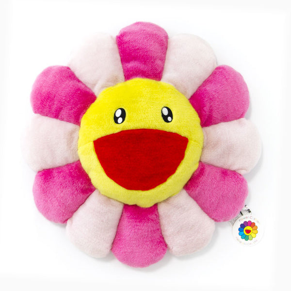"Takashi Murakami 24"" Pink Flower Cushion"