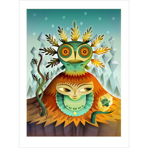 Nathan Jurevicius Peleda Mountain Queen Archival Print (Small)
