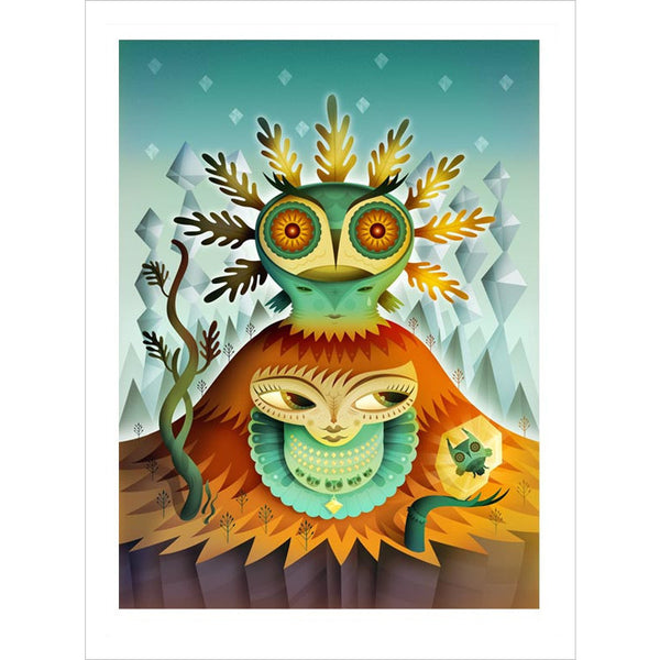 Nathan Jurevicius Peleda Mountain Queen Archival Print (Large)