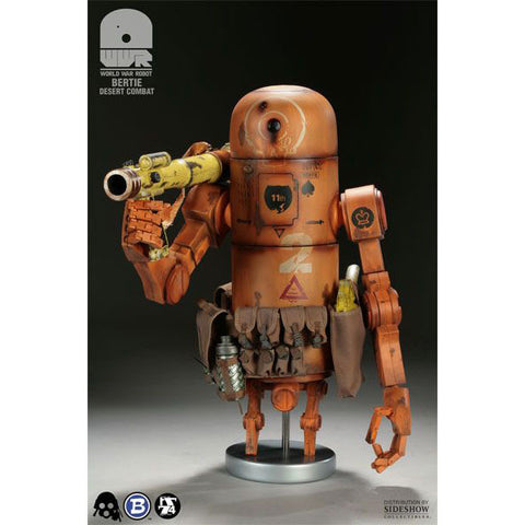 "Ashley Wood 3A WWR 14""BERTIE (Desert Camo) Action Figure"