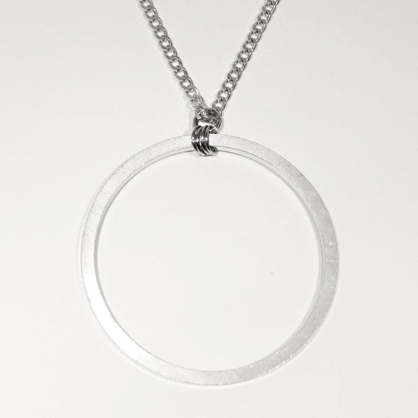 Cameron Lee Circle Pendant Necklace