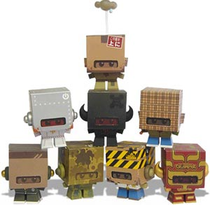 Cardboy Series One: Full Set