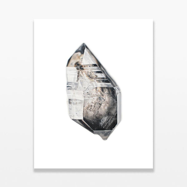 Smoky Quartz X by Carly Waito