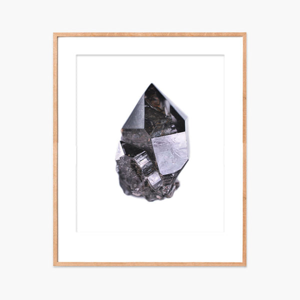 Carly Waito Smoky Quartz with Inclusions Archival Print