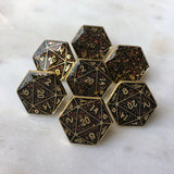 Weapon of Choice D20 Lapel Pin