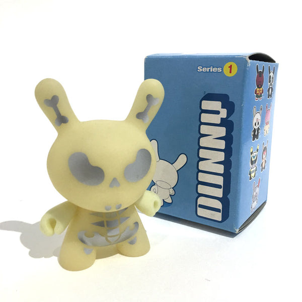 "Dunny Series One: Jerry Abstract GID 3"" Single Figure"
