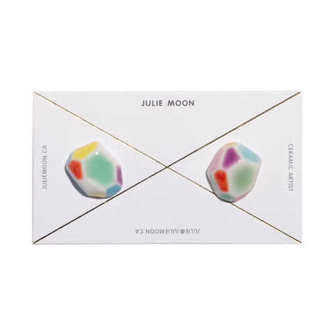 Julie Moon Geometric Earrings