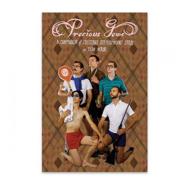 Precious Gems Postcard Book