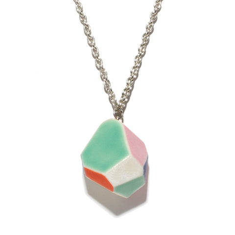 Julie Moon Geometric Necklace (Medium)
