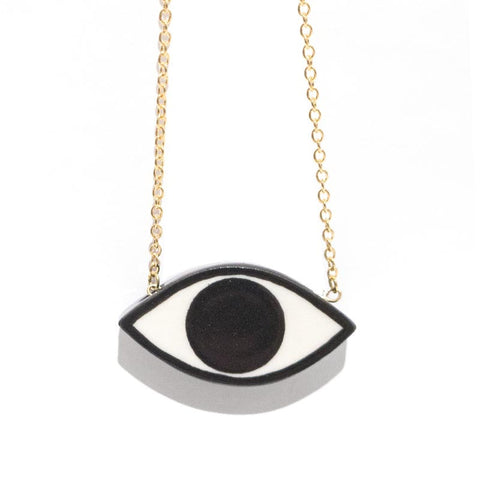 Julie Moon Eye Necklace