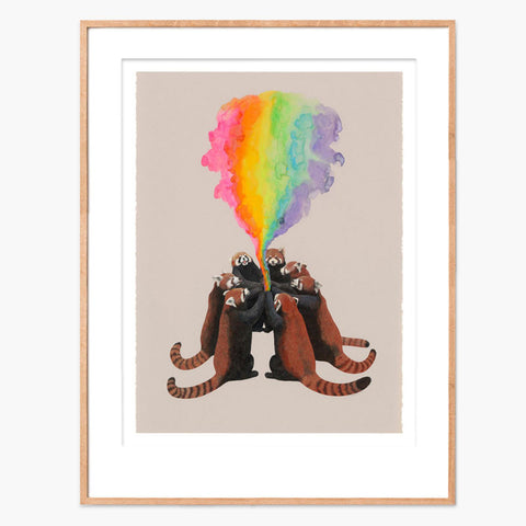 Kozyndan We Come Together to Make the World Fun Archival Print